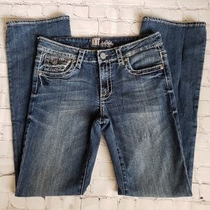 Kut from the Kloth Flap Pocket Straight Jeans 6
